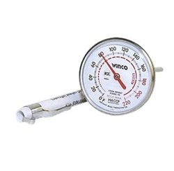 Winco TMT-P1 Dial Type Pocket Test Thermometer - NSF