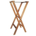 "32"" Wood Tray Stand - Walnut Finish (TR-33W)"