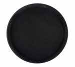 "Winco Easy Hold Tray - Round - Black - 11"", (TRH-11K)"