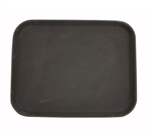 "Winco Easy Hold Tray - Rectangular - Brown - 14"" X 18"", (TRH-1418)"