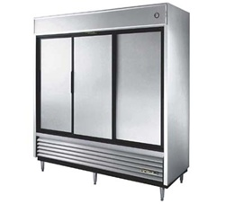 True TSD-69 3-Sliding Doors Reach-In Refrigerator
