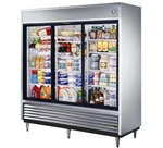 True TSD-69G-LD (3) Glass Door Reach-In Refrigerator