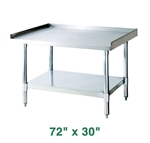 "Turbo Air Equipment Stand - 72"" X 30"""