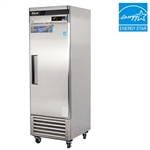 Turbo Air TSR-23SD Reach-In Refrigerator - Solid 1-Door, 23-Cu.Ft