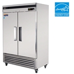 Turbo Air 54-Inch Super Deluxe 2-Door 49 Cu.Ft. Reach-In Commercial Refrigerator, (TSR-49SD)