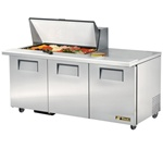 True 72-Inch (3) Door Mega Top Sandwich / Salad Prep