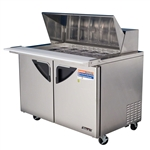Turbo Air TST-48SD-18 Mega Top 2-Door Prep Table