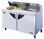 Turbo Air TST-60SD 2-Door Deluxe Food Prep Table