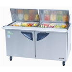 Turbo Air TST-60SD-24 Mega Top 2-Door Prep Table