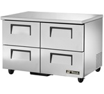 True 48-Inch 12 Cu.Ft. (4) Drawer Under Counter Freezer, (TUC-48F-ADA-HC)