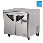 "Turbo Air 36"" 2-Door Undercounter Refrigerator"
