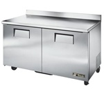 True (2) Door 15.5 Cu.Ft. Work Top Freezer, (TWT-60F)