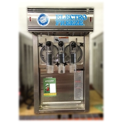 "Used Electro Freeze DH7 Gravity ""Twist"" Shake and Smoothie Freezer"