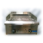 "Demo Royal RIB-24 24"" Countertop Gas Broiler"