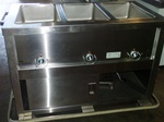 Demo Thurmaduke E-3-CBSS Electric Steam Table
