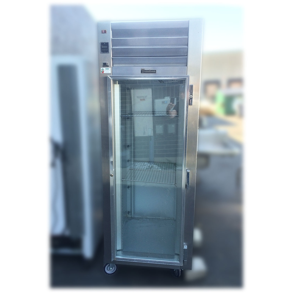 used traulsen sg11010 29 glass door refrigerator - Refridgerator Glass Door