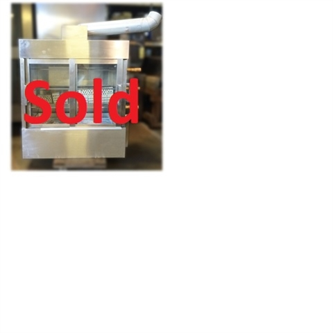 Used Commercial Natural Gas Chicken Rotisserie Oven
