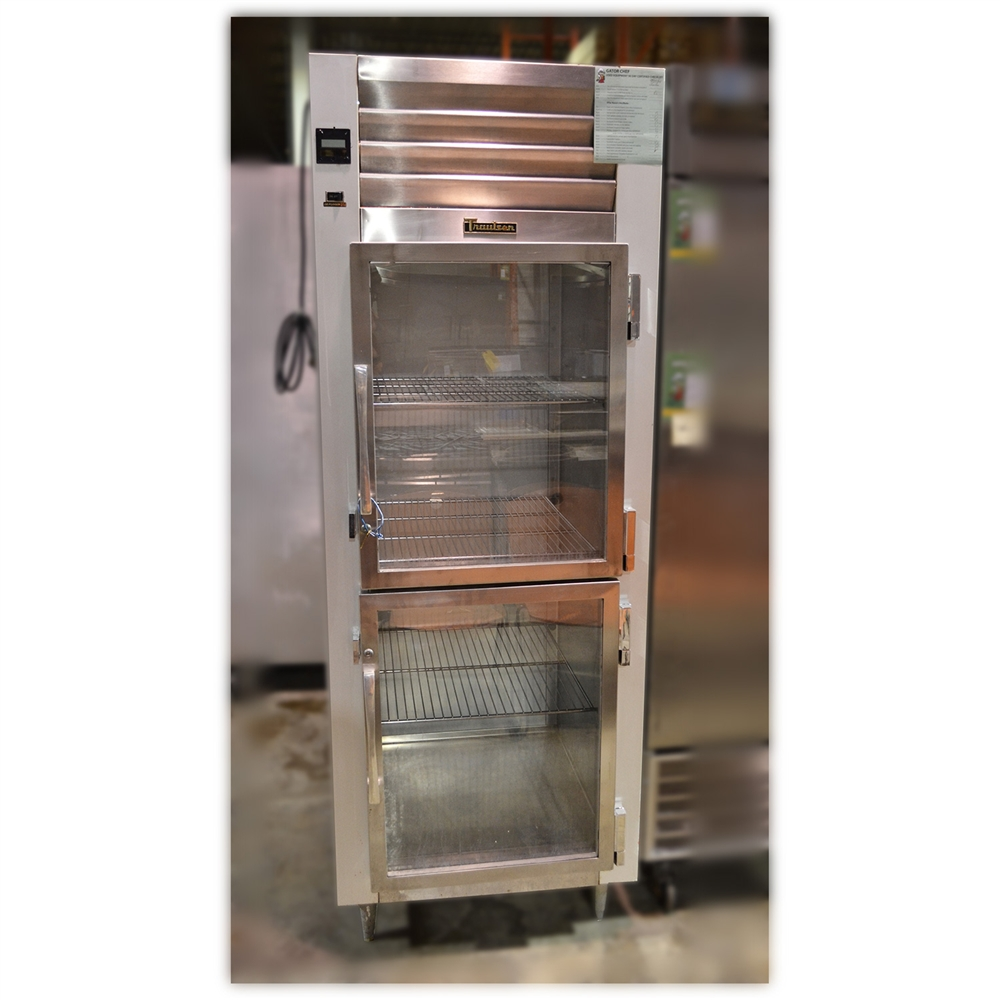 Used Traulsen G10000b 30 2 Half Glass Doors Refrigerator