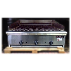 "Store Demo Unit - TriStar TSIRB-36 36"" Gas Infrared Charbroiler"