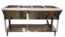 USED - USED - Advance Tabco 4-Well Electric Steam Table (HF-4E-120)