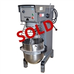 USED - Varimixer V40P Variable Speed 3-HP Pizza Dough Mixer - 40 Quart (U05570-V40P)