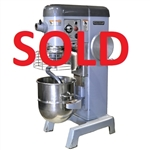 USED - Hobart D340 Mixer with (3) Attachments and Meat Grinder- 40-Quart Capacity