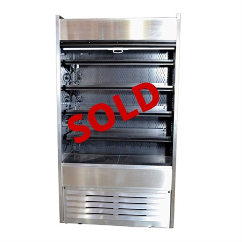 "USED - Structural Concepts Refrigerated Self-Service Merchandiser - 45-1/2"" Wide - model B42"