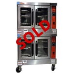 USED - Vulcan Double Deck Convection Oven - Natural Gas (VC44GD)