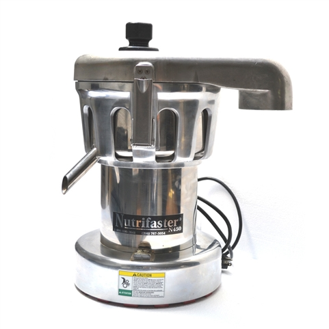 USED - Nutrifaster N450 Commercial Countertop Juice Extractor with Powerful 1.25 HP Motor