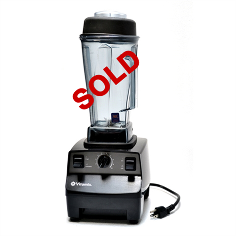 USED - Vitamix Vita-Prep Commercial Variable Speed Food Blender with 64 Oz. High-Impact Clear Jar - (1002)