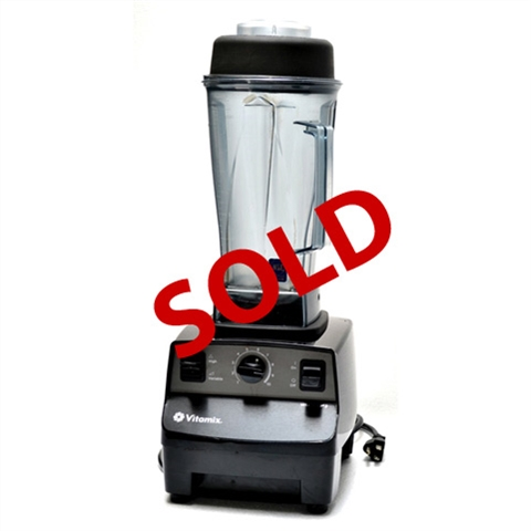 USED - Vitamix Vita-Prep 3 Commercial Variable Speed Food Blender with 64 Oz. High-Impact Clear Jar - (1005)
