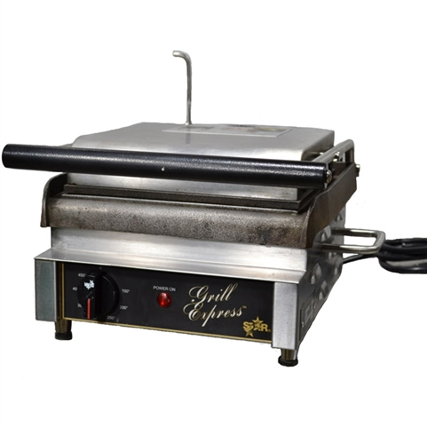 USED - Star Grill Express Panini Sandwich Grill - (GX10IS)