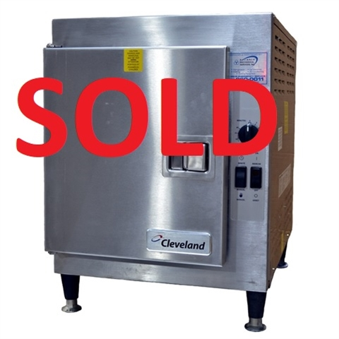 USED - Cleveland Countertop 5-Pan Steamer - (21CET16)