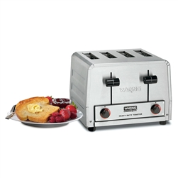 Waring Heavy Duty 4 Slice Commercial Toaster - 2200W, (WCT800)