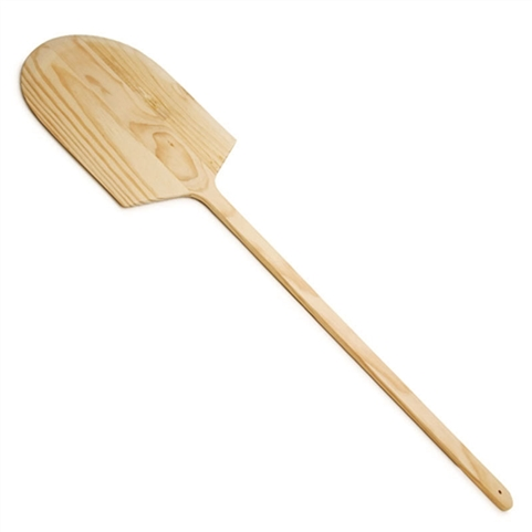 "Wooden Pizza Peel 14""x16"" Blade with 26"" Handle - Thunder Group WDPP1442"
