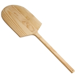 "Wooden Pizza Peel 16""x18"" Blade with 24"" Handle - Thunder Group WDPP1642"