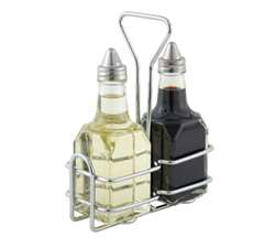 Winco Oil and Vinegar Holder - WH-3 | Oil and Vinegar Holder