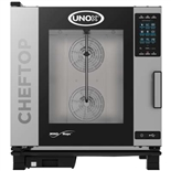 UNOX MIND.Maps Plus Natural Gas Combi Oven – Capacity: (6) Full Size Sheet Pans - (XAVC-06FS-GPR)
