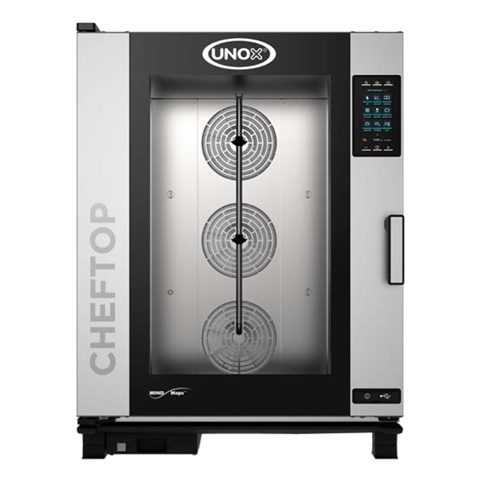 UNOX MIND.Maps Plus Electric Gas Combi Oven – Capacity: (10) Full Size Sheet Pans - (XAVC-10FS-EPR)