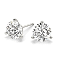 1 1/2ctw. Martini Set Round Brilliant Diamond Studs