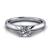 "Four Prong Classic Solitaire Engagement Ring â…""ct."