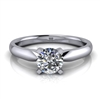 Four Prong Classic Solitaire Engagement Ring ½ct.