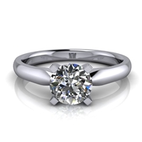 Four Prong Classic Solitaire Engagement Ring ¾ct.