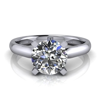 Four Prong Classic Solitaire Engagement Ring 1¼ct.