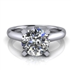 Four Prong Classic Solitaire Engagement Ring 1½ct.