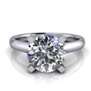 Four Prong Classic Solitaire Engagement Ring 1¾ct.