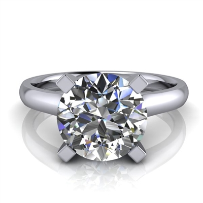 Four Prong Classic Solitaire Engagement Ring 2ct.