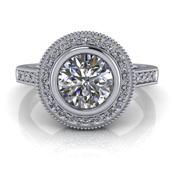engagement inspired cut diamond product flower julia halo rings ring main cushion