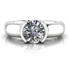 """Harper"" Solitaire Engagement Ring 1ct."
