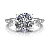 """Evelyn"" Diamond Engagement Ring 1ct."